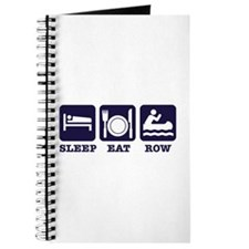 Sleep eat row Journal