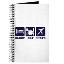 Sleep eat ice skate Journal