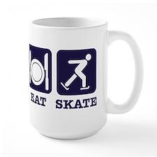 Sleep eat ice skate Mug