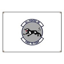 35th Fighter Squadron Banner