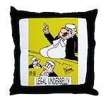 Prosecution Team's Throw Pillow