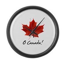 Cute Canadian Large Wall Clock