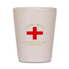 Combat Medic Shot Glass