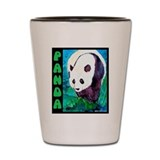 Panda Bear 1 Shot Glass