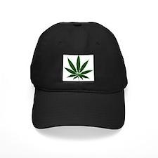 Simple Marijuana Leaf Baseball Cap