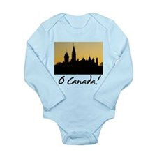 Funny Parliament hill Long Sleeve Infant Bodysuit