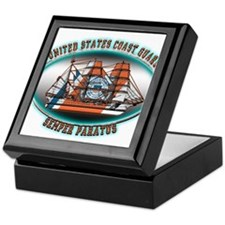 USCG Coast Guard Eagle Keepsake Box