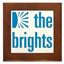 Square Logo Framed Tile