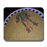 Frog Tongue as Watercolor 2 Mousepad