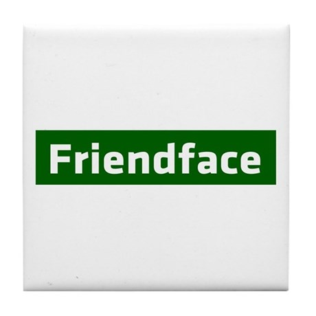 IT Crowd - Friendface Tile Coaster