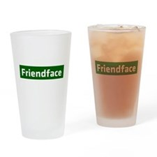 IT Crowd - Friendface Drinking Glass