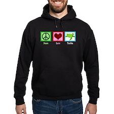 Peace Love Turtles Hoodie