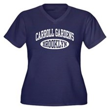 Carroll Gardens Brooklyn Women's Plus Size V-Neck