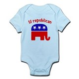 Lil Republican Infant Bodysuit