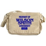 Funny Wilson Messenger Bag