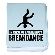 In case of emergency breakdan baby blanket