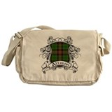 Allison Tartan Shield Messenger Bag