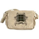 Clark Tartan Shield Messenger Bag