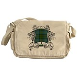 MacLeod Tartan Shield Messenger Bag