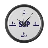 It's SUP time! Large Wall Clock