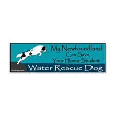 Light Landseer WRD Car Magnet 10 x 3
