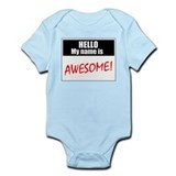 HELLO Infant Bodysuit