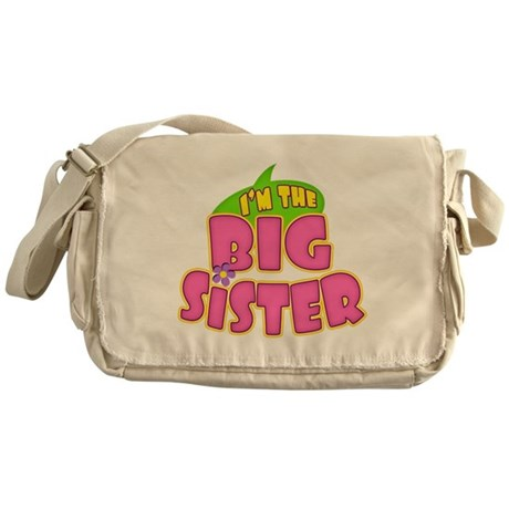 Pink Big Sister Messenger Bag