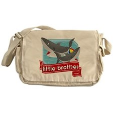 Little Brother Shark Messenger Bag