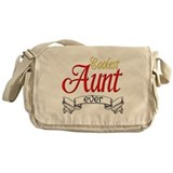 Coolest Aunt Messenger Bag