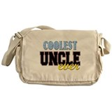 Coolest Uncle Messenger Bag