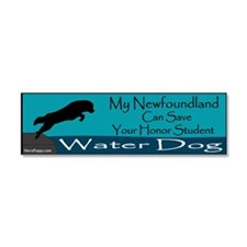Save Your Honor Student (WD) Car Magnet 10 x 3