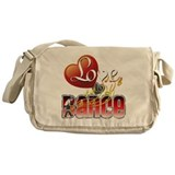 Love Dance Messenger Bag
