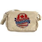 Canadian American Messenger Bag