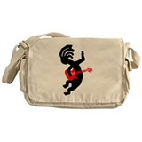 Kokopelli Guitar Messenger Bag