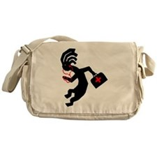 Kokopelli Doctor Messenger Bag