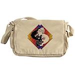 Kokopelli Yin Yang Messenger Bag