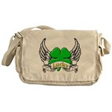Lucky Tattoo Messenger Bag