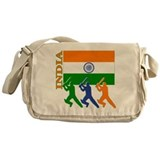 India Cricket Messenger Bag