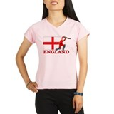 England Cricket Player Performance Dry T-Shirt