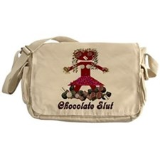 Chocolate Slut Messenger Bag