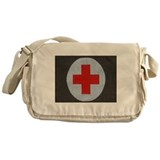 Cool Army soldier Messenger Bag