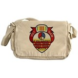 Cute Military and patriotism Messenger Bag