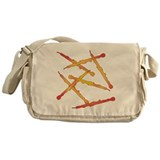 Fiery English Horns Messenger Bag