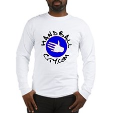 HandballCity.com Cool Logo Long Sleeve T-Shirt