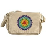 Crown Chakra Mandala Messenger Bag