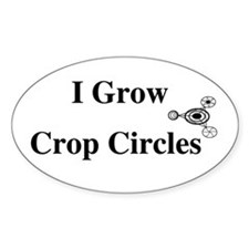 Crop Circle Oval Decal