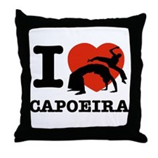 I love Gapoeira Throw Pillow
