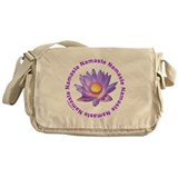 YOGA NAMASTE Messenger Bag