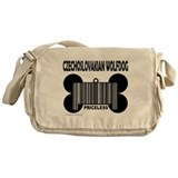 Cool Curly coated retriever Messenger Bag