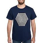 Striped Hexagon Dark T-Shirt